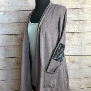 Alfani | Cardigan w/ Elbow Patch and Front Pockets